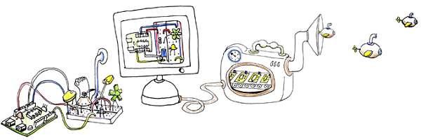 Un logiciel de CAO électronique pour platine d'essai.