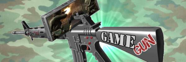Le Game Gun disponible pour Noël.