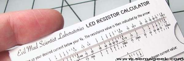 Calculez la résistance idéale pour votre LED.
