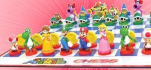 Jouez aux Echecs avec Mario et Bowser.