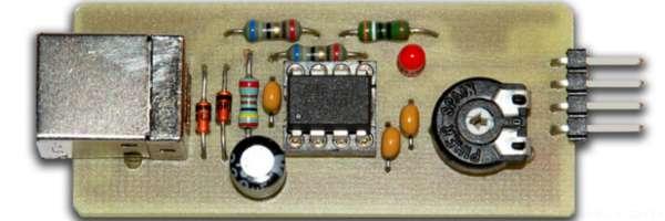 Fabriquer un oscilloscope USB à moindre cout.