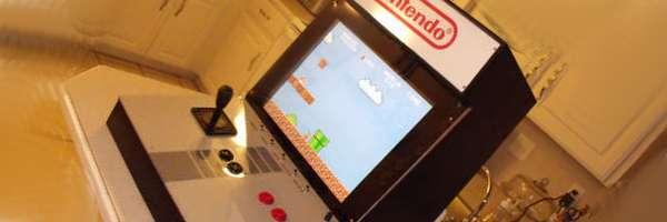 Fabriquer une borne d'Arcade Nintendo.