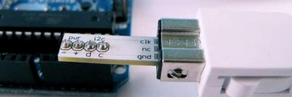 Utilisez un NunChuck facilement avec un kit Arduino.