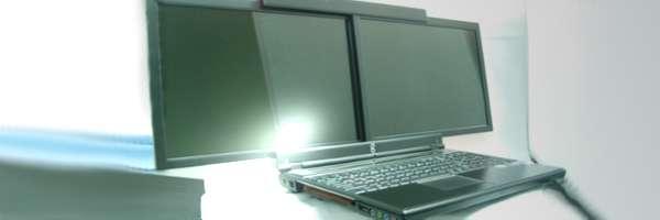gScreen : le prototype de portable vraiment bi-écran.