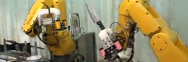 Nagoya : Le Robot Cuisto qui prepare les nouilles.