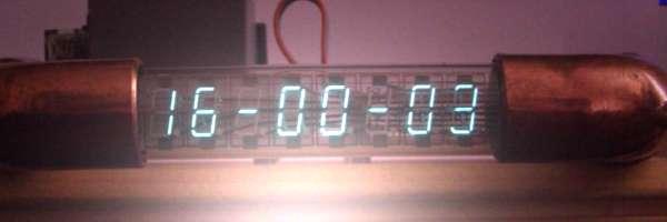Réaliser une horloge avec un vieux tube VFD.