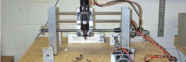 Walkyrie : Un robot d'usinage 3D pour 100$.