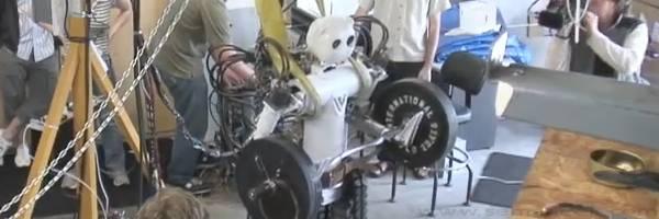 Une nouvelle aventure du Robot BEAR.