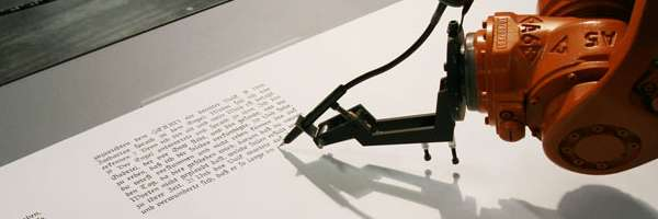 BIOS : Le Robot Scribe qui reproduit la Bible.