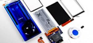 Le Ipod Nano 5ème génération déjà démonté.