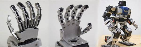 Offrez la main de Dieu à votre robot.