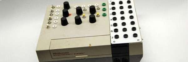Transformer une NES en table de mixage.