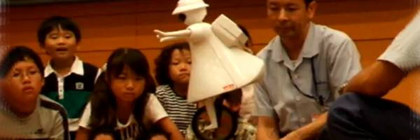 Murata Girl : Un robot qui a vraiment de l'équilibre.
