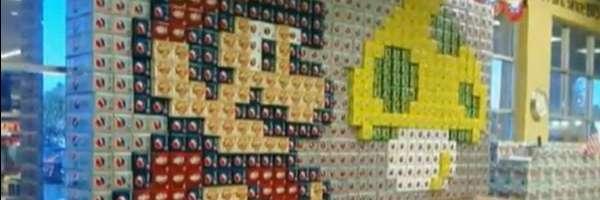 Art 8 bits : Super Pepsi Mario.