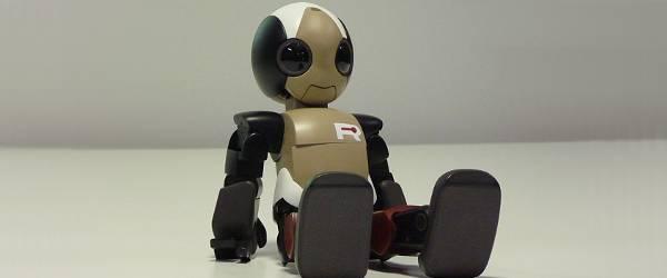 Vidéo : Ropid, le petit robot qui court et saute.