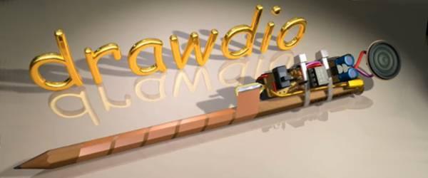 Vidéo : Une animation 3D pour construire un Drawdio.