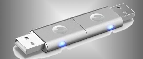 iTwin : 2 clés USB pour faciliter le partage sur Internet.