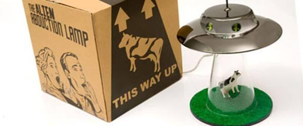 Gadget : Une lampe de téléportation Alien.