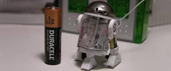 Vidéo : Découvrez le plus petit robot R2D2.