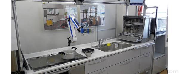 Enfin un robot pour remplir et vider votre lave vaisselle.