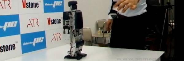 Robovie-PC : Un robot modulable équipé d'un processeur Intel ATOM.
