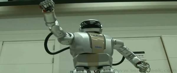 HUBO 2 : Le Robot qui maitrise la souplesse et le Taïchi.