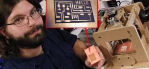 Fabriquer une machine d'usinage de circuit imprimé.
