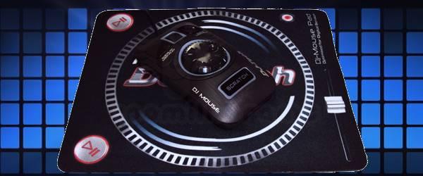 DJ Mouse : Une souris dédiée au mixage de la musique.