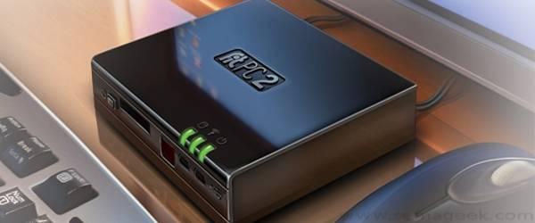 Fit-PC2 : Un ordinateur PC vraiment miniature.