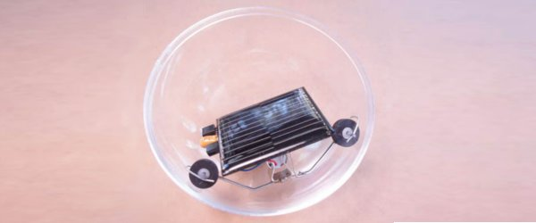 BEAM : Un robot sphérique solaire.