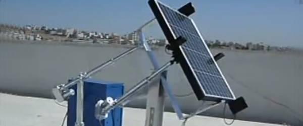 Vidéo : Un panneau Solaire qui suit le soleil.