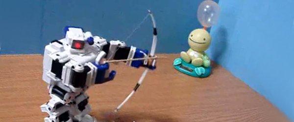 Vidéo : Fabriquer des armes pour son robot.