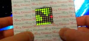 DIY : Fabriquer une carte de voeux avec un jeu à LED intégré.