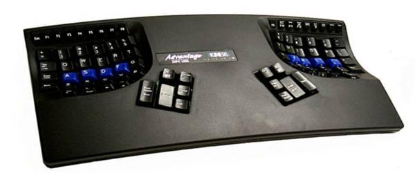 Advantage Kinesis : Un clavier ergonomique bien laid.