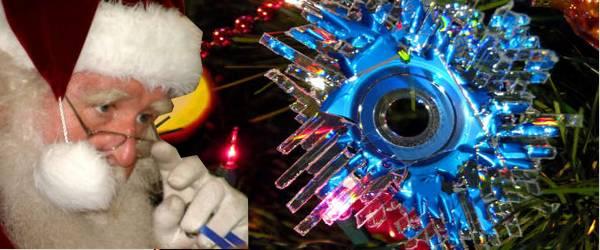 Recycler vos vieux CD en décoration originale de Noël.