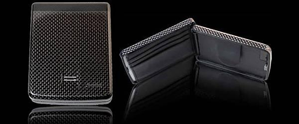 iWallet : Un portefeuille bluetooth avec lecteur d'empreinte digitale