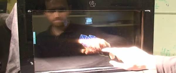 Innovation : Le MIT développe un écran Bidirectionnel.