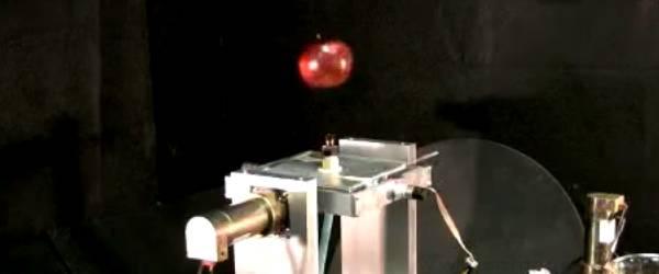 La lévitation est possible grâce à ce robot qui ne manque pas d'air.