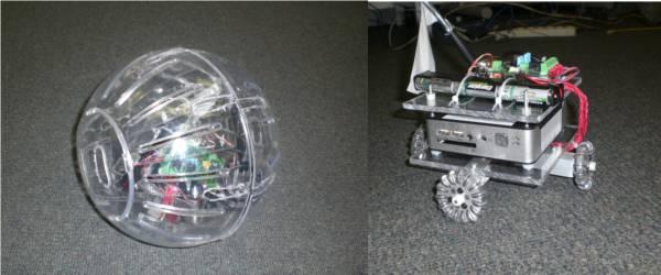 Project 413 : Le robot Hamster dans une Boule.