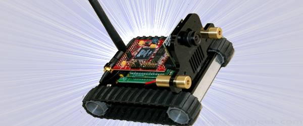 SVR-1 Blackfin : Un robot de surveillance Wifi.