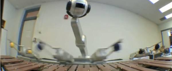 Shimon : un robot très Jazzy qui improvise...