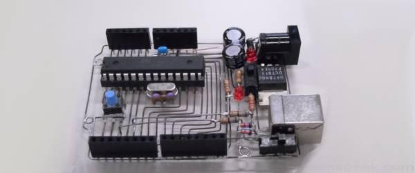 Découverte : Le squelette d'un kit Arduino.