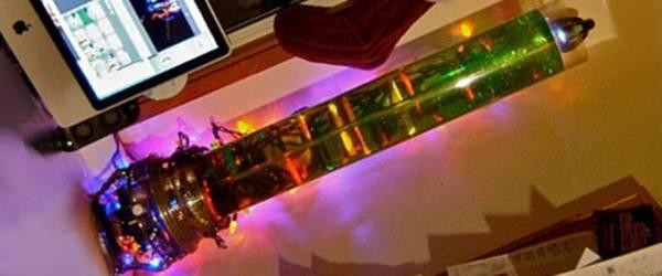 DIY : Un Sapin de Noël original à base de Turbine Tesla.
