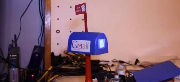 DIY : Un notificateur d'email pour Gmail à base d'Arduino.