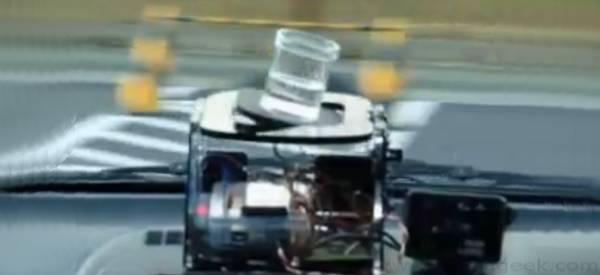 Un stabilisateur de verre pour voiture à base d'Arduino.