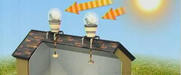 Vidéo : Des bulbes solaires pour fournir de l'éclairage écologique.
