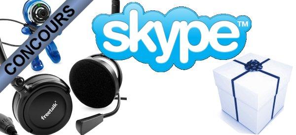 Gagnez des packs Webcam Casque avec Skype et Semageek