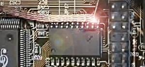 Vidéo : Apprendre à dessouder un composant électronique CMS.