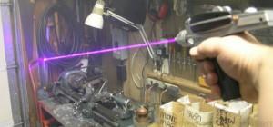 DIY : Fabriquer un pistolet laser Blu-ray digne de Star Trek.