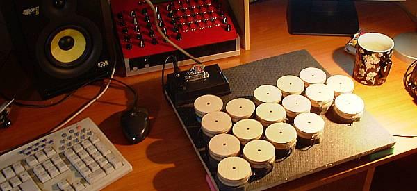 DIY : Fabriquer une batterie Midi avec le concept MegaDrum.
